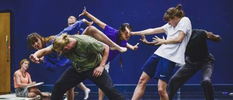 Contemporary dance class adults